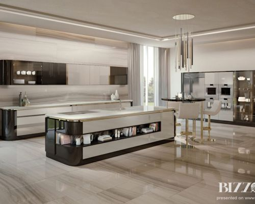 BIZZ_SK0001 - Sodobna luksuzne kuhinja / Contemporary luxury kitchen Bizzotto - 1