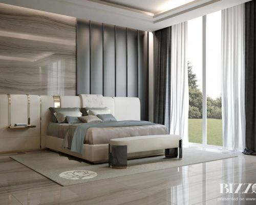 BIZZ_SP0005 - Sodobna luksuzne spalnica / Contemporary luxury bedroom Bizzotto - Diamond, Penelope