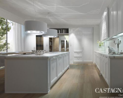 CAST_KU0001 - Sodobna stilna kuhinja /  Contemporary luxury kitchen Castagna Cucine - Princess