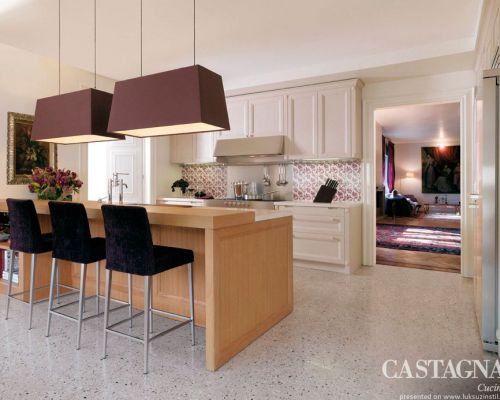 CAST_KU0007 - Sodobna stilna kuhinja /  Contemporary luxury kitchen Castagna Cucine - Cashmere