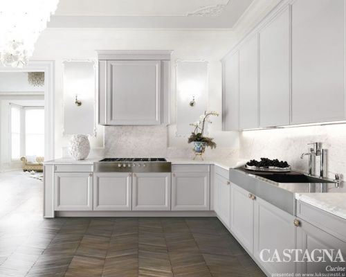 CAST_KU0013 - Sodobna stilna kuhinja /  Contemporary luxury kitchen Castagna Cucine - Maryrose