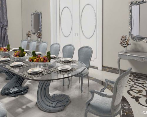 SAFI_JE0003 - Sodobne stilne jedilnice / Contemporary luxury dining room Savio Firmino - 3